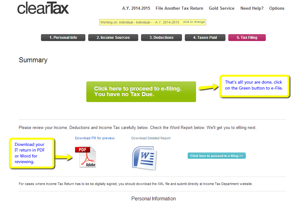 income tax return form itr 1 sahaj