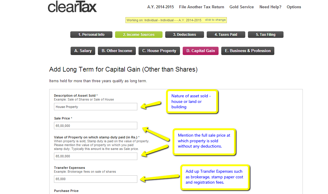 how to avoid capital gains tax on land