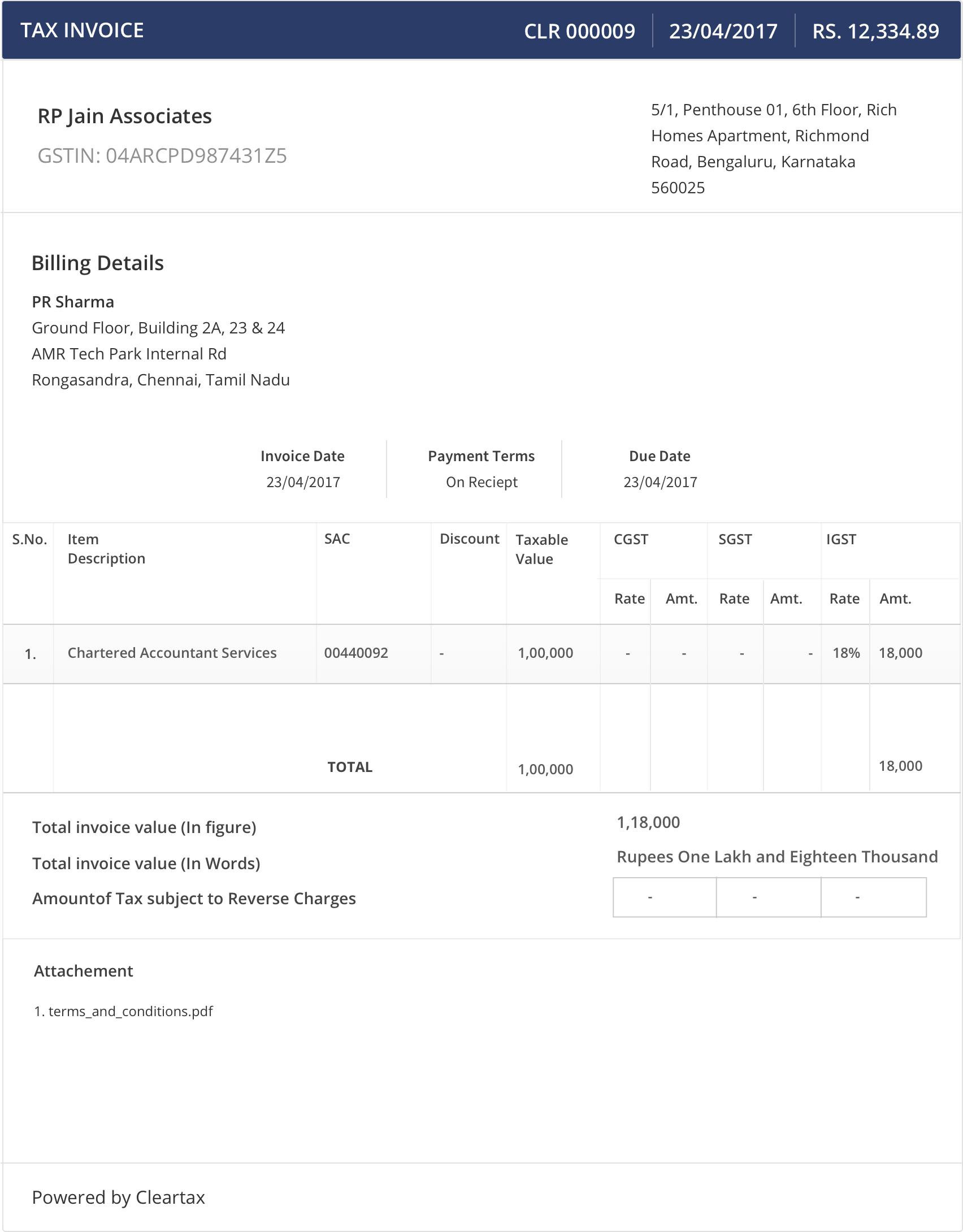 Invoice For Payment Word Invoicing Under Gst Supply Of Services Here Is All You Need To Know Invoice For Freelance Work Pdf with Sample Invoices For Small Business Gst Invoice Example Asda Receipt Checker Online Shopping Excel