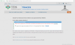 TRACES TDS-CPC Website