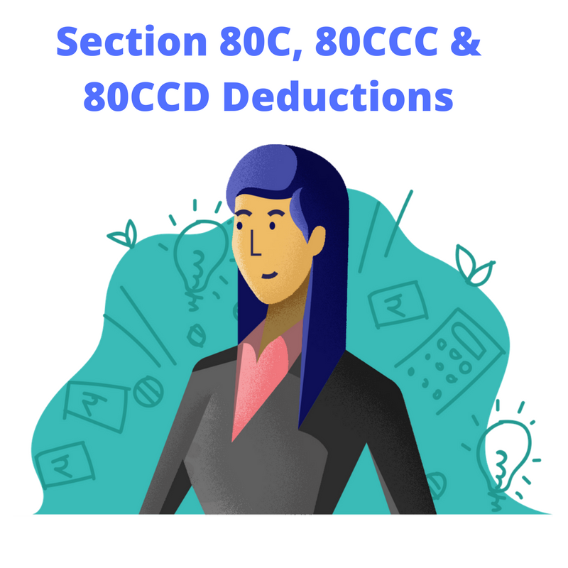 deduction under section 80c, 80ccd, 80ccc