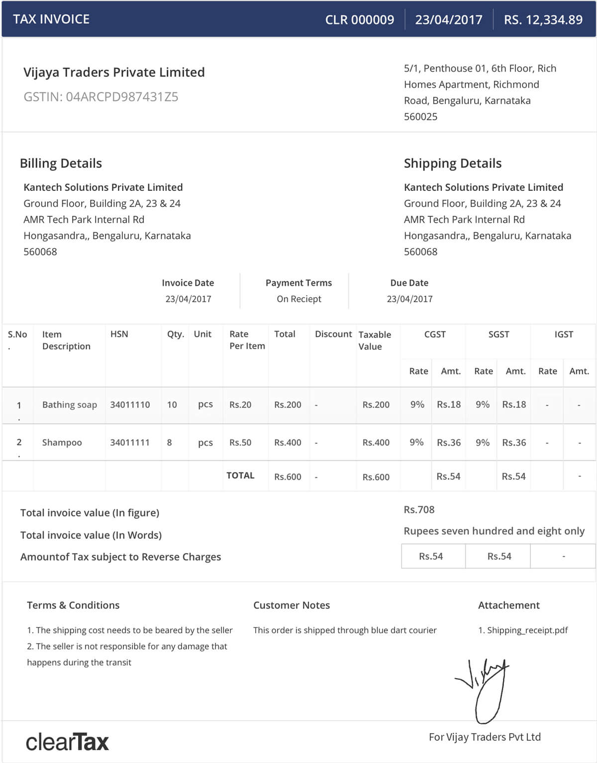 Invoice To Be Paid Excel Gst I Gst Invoice Details I Essential Information Free Receipt Forms Pdf with Format For Rent Receipt Excel Gst Invoice Details When To Invoice Pdf