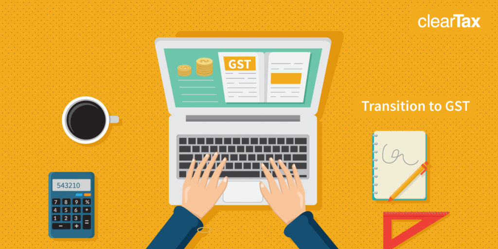 transitional provisions in certain cases under gst