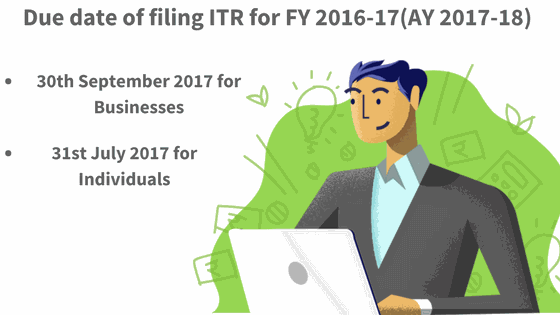 due date for Income tax filing returns