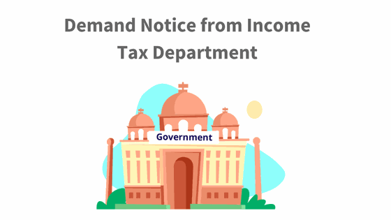 demand notice from Income Tax Department
