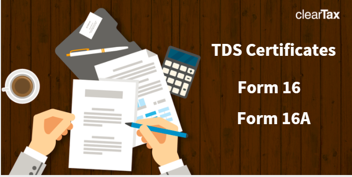 Difference between Form 16 and Form 16A
