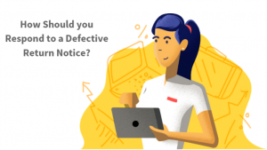 defective income tax return notice