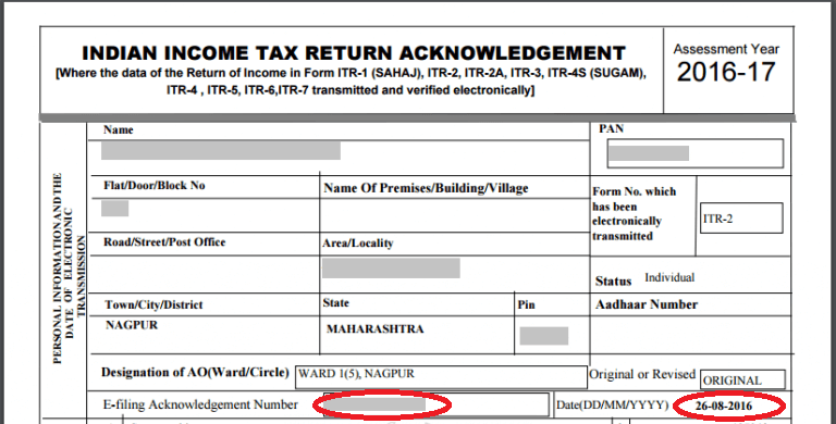 How to e file revised return on cleartax revised return ccuart Images