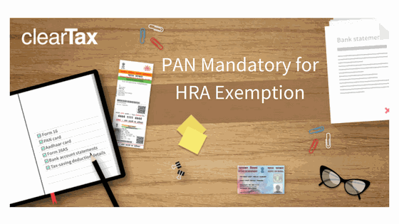 Landlord's PAN Mandatory for HRA Exemption