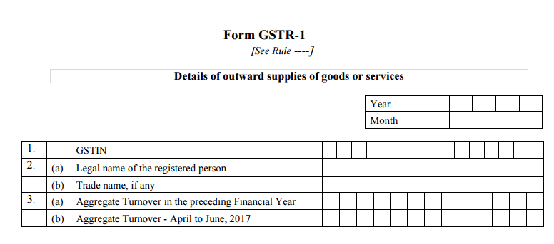 how to file gstr1 for outward supplies gstr1 for sales